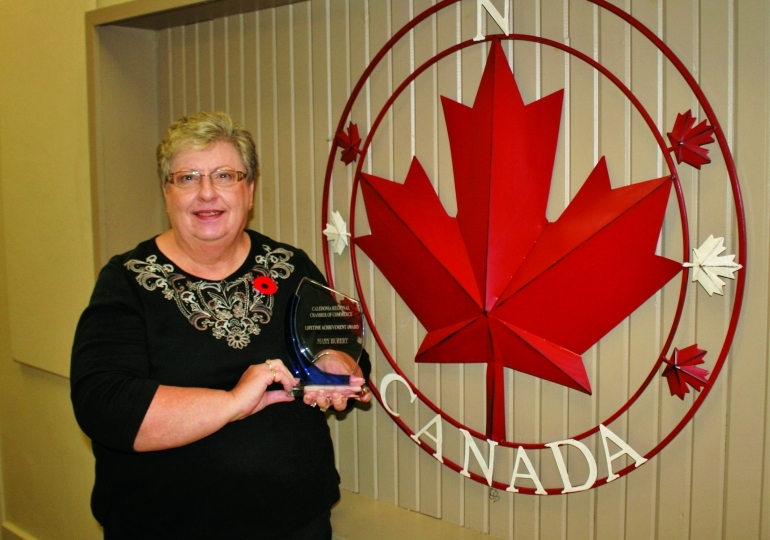 Love of community has Caledonia volunteer firmly rooted
