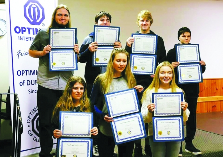 Recognizing local youth