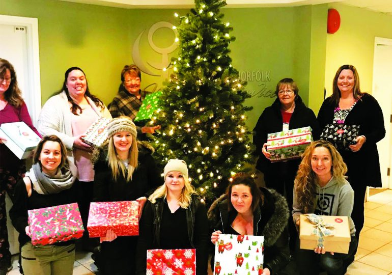 Shoebox Project delivers Christmas cheer
