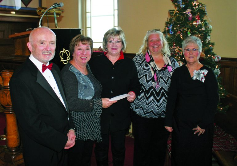 Celebrating Christmas  at the Gore in Oneida