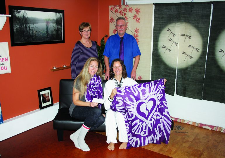 Zaandi Yoga supports Women's Services