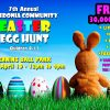 A message from the Easter Bunny ahead of egg hunt