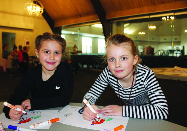 Haldimand kids get creative during  March break vacation bible school in York