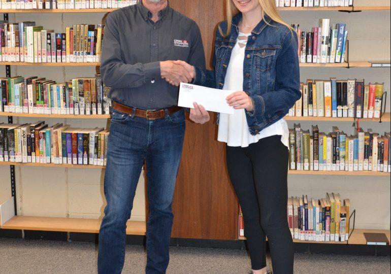 Hagersville student wins $1,000 bursary