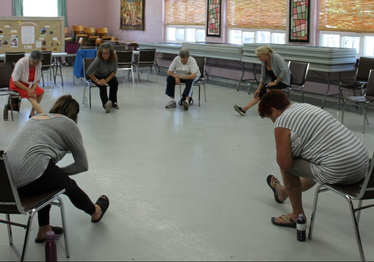 Haldimand Abilities Centre keeping it flexible with chair, laughter yoga