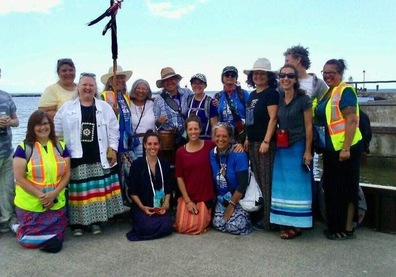 All Nations Grand River Water Walk touches down at mouth of river in Port Maitland