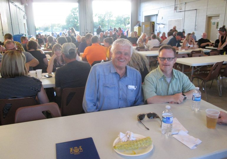50th Canfield Fire roast a success