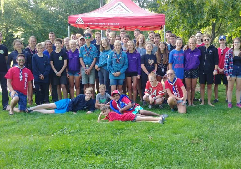 Haldimand scout groups host international scouts