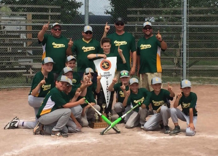 Cayuga Squirts win gold