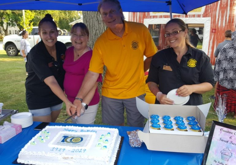 Optimists celebrate 100th birthday
