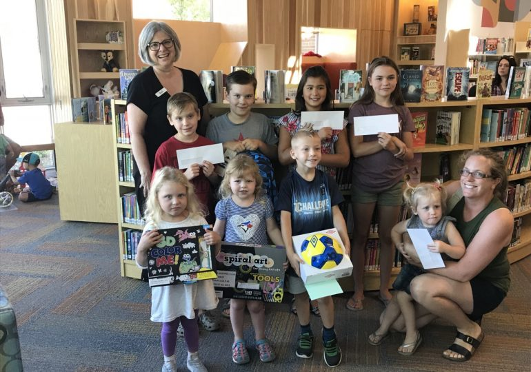 Libraries announce summer reading winners