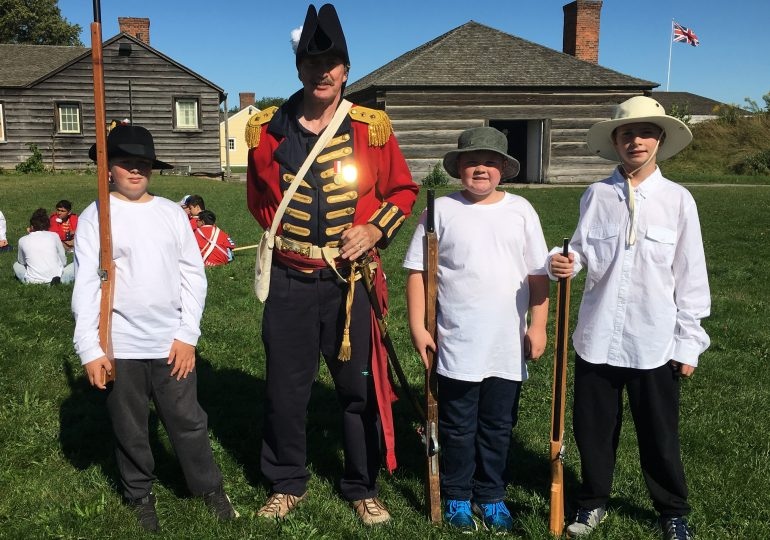 Hagersville Scouts visit Fort George