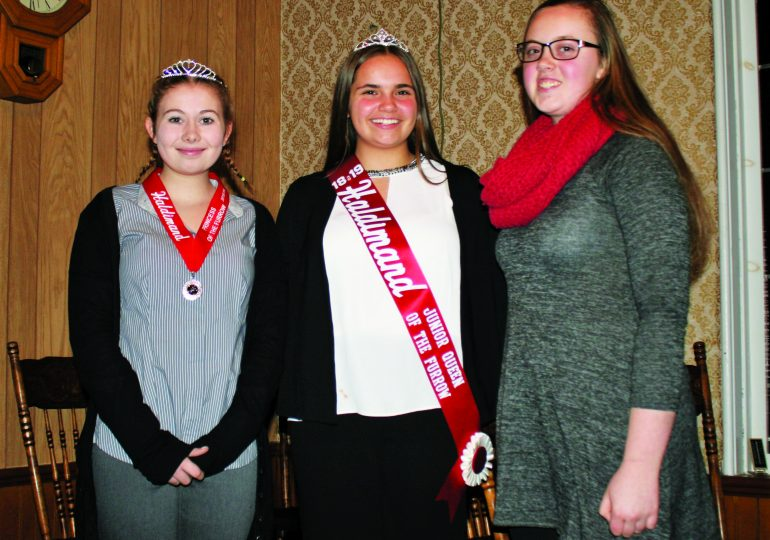 "Haldimand Plowmen's Association selects ""regal"" ambassadors"