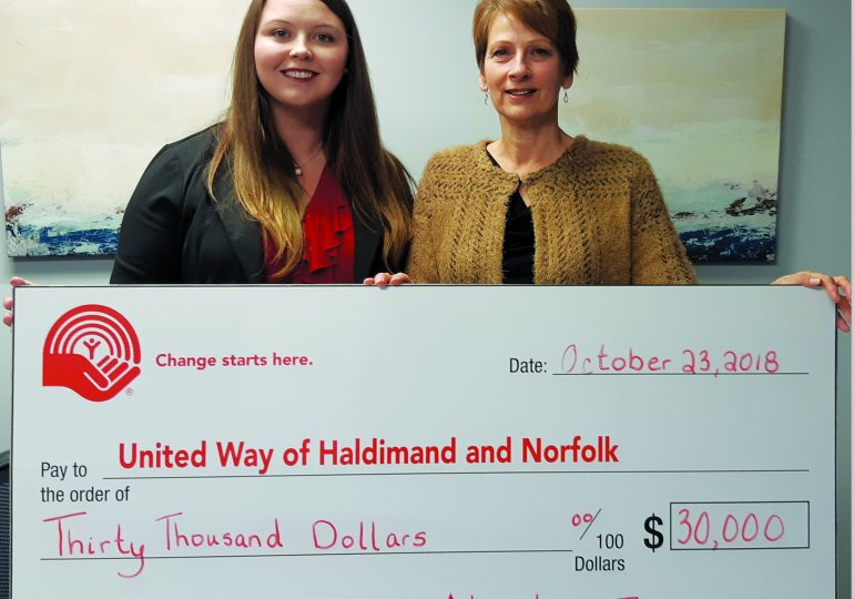 $30,000 donated to HN United Way