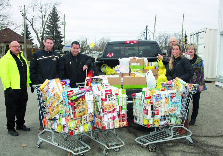 RBC delivers over 1,000 items  to Hagersville Food Bank