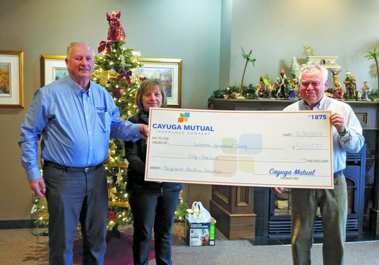 Council approves $96,000 grant for Caledonia Fairgrounds