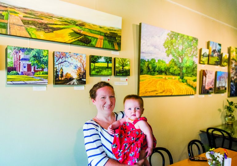 Finding inspiration in Cayuga
