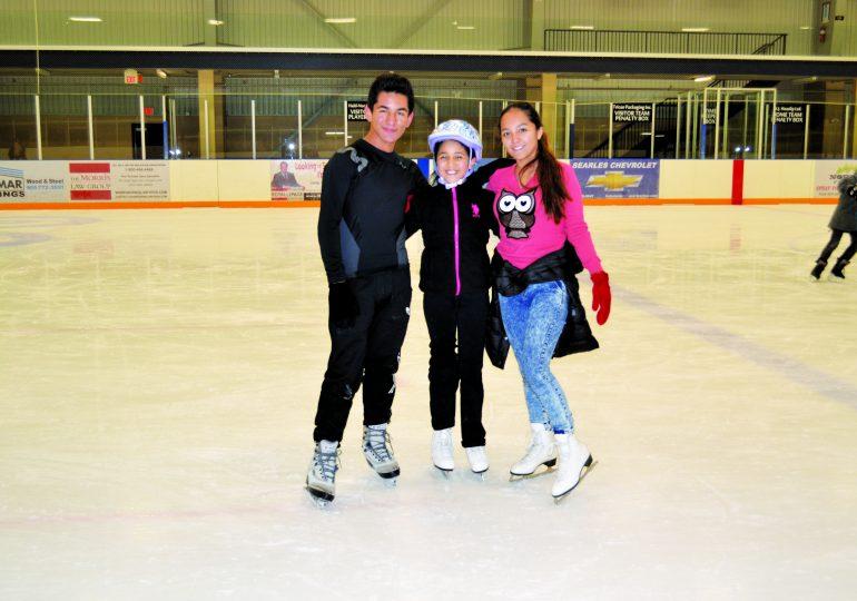 Skaters enjoy free skates throughout winter season