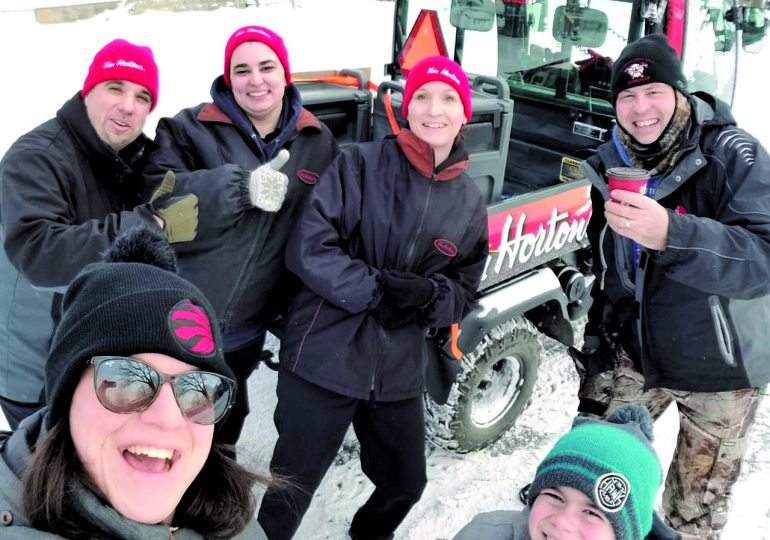 Dunnville Tim Hortons warms hearts on a cold day