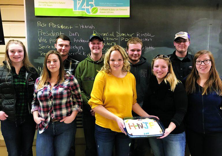 Junior Farmers introduce new executive