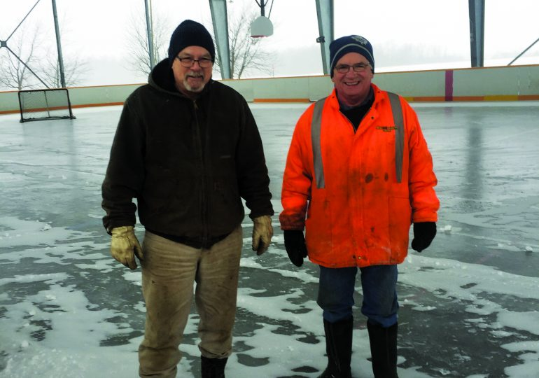 Fisherville outdoor rink opens for the season