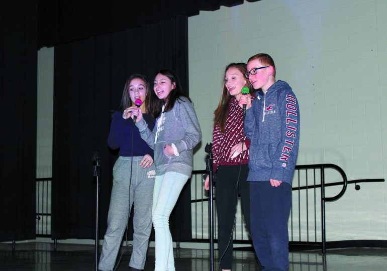 Hagersville's got talent: HES hosts karaoke day