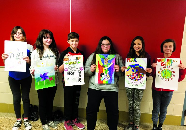 Hagersville Elementary students compete in Lions Peace poster contest
