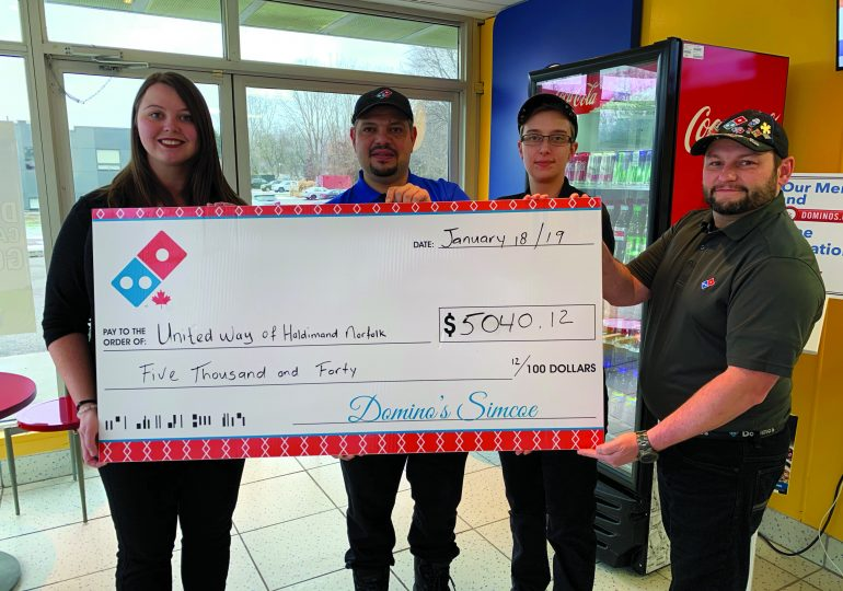 12 Days of Pizza event raises record funds for United Way