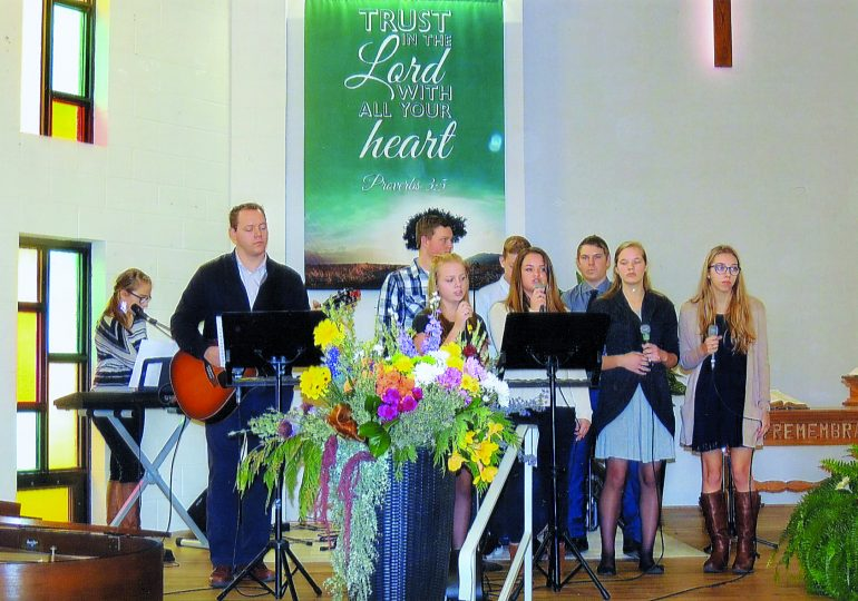 """Jarvis congregation celebrates 70 years  of service in the """"mission field"""""""