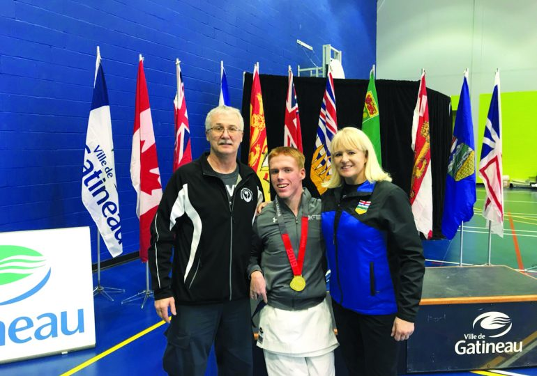Kyle Chambers wins national gold at championships in Quebec