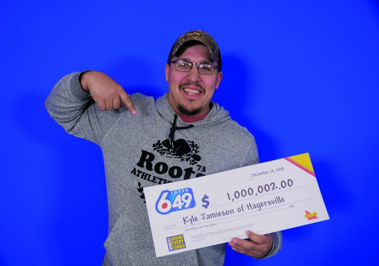 Hagersville construction worker wins $1 million
