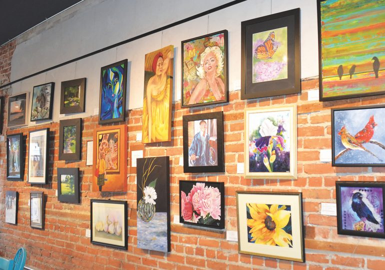 Art exhibition comes to The Minga cafe
