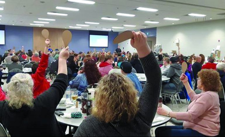 Full house for Caledonia Lions' Quarter Auction