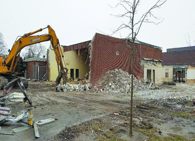 Fairview school fully demolished