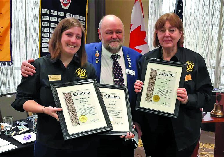 Dunnville Optimists win top provincial awards