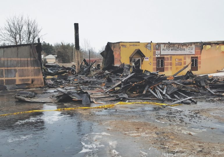 Fires destroy Dunnville business, Hagersville home