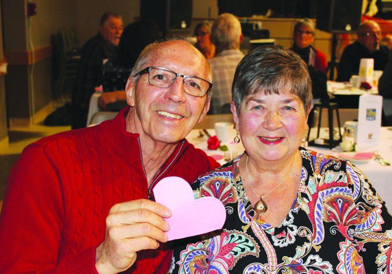 Feelin' the love at Hagersville Valentine's Dance
