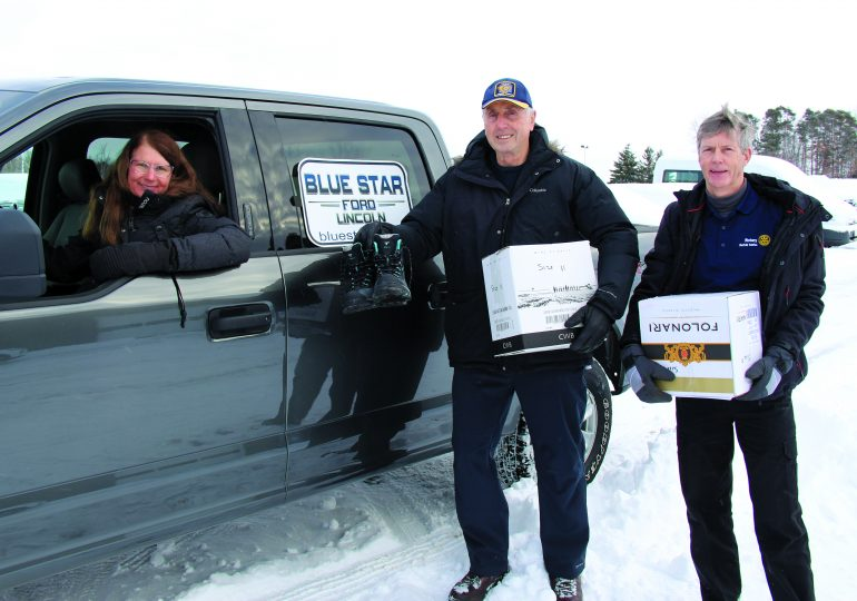 Hagersville business donates to northern reserve