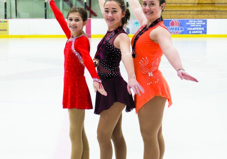 Hagersville skaters compete