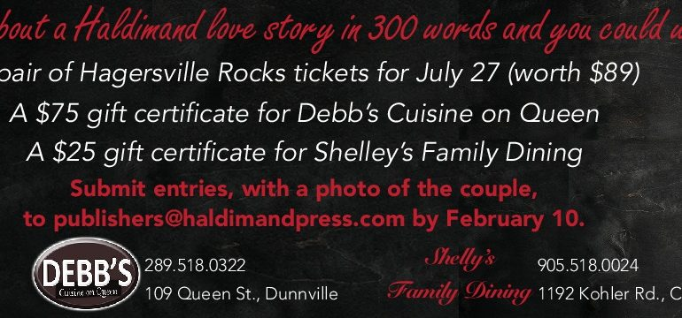 Love is in the air: Win a $75 gift card to Debb's Cuisine, among other prizes