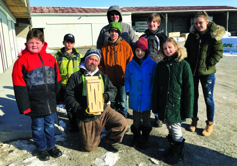 4-H Woodworking Club tours local businesses
