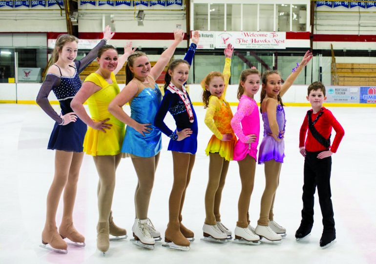 Skaters ready for Ice Carnival