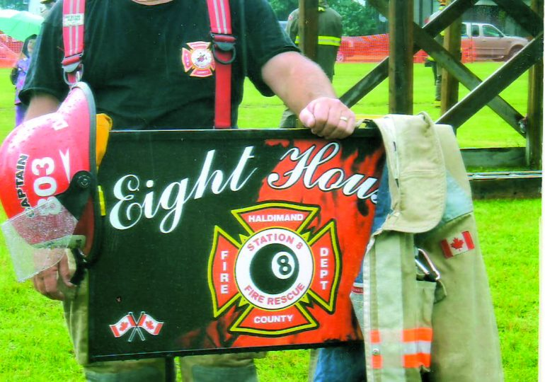 Haldimand People: 45 years a firefighter, forever a family