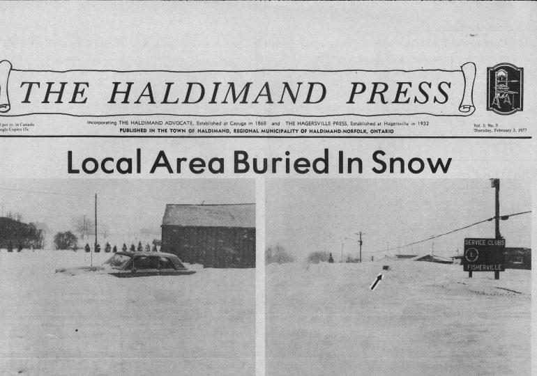 Flood, Fire, and Fury in Haldimand
