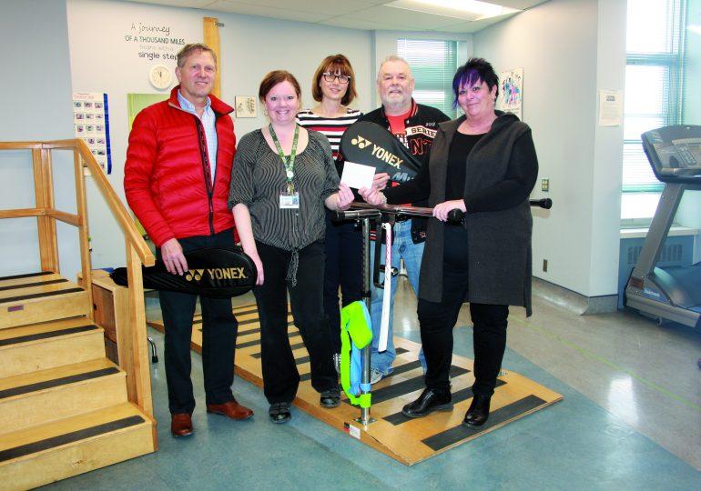 Hagersville Badminton Club makes annual donations