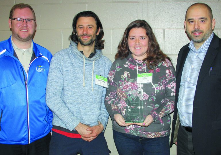 Local businesses recognized at Business Breakfast