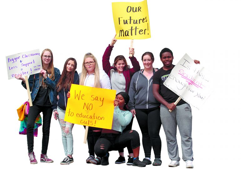 Students say no to education cuts