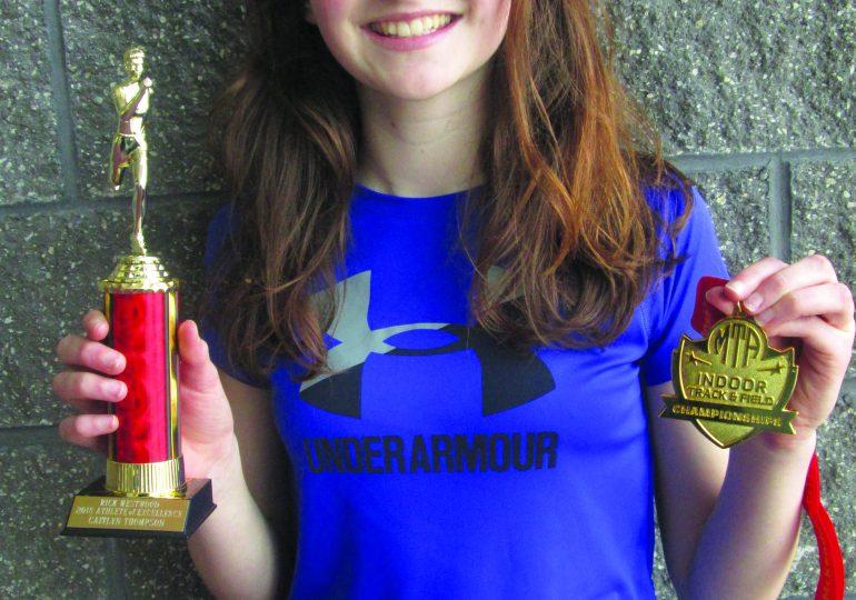 Cayuga athlete wins award
