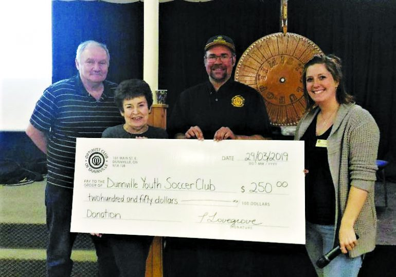 Optimists fundraise for youth in community