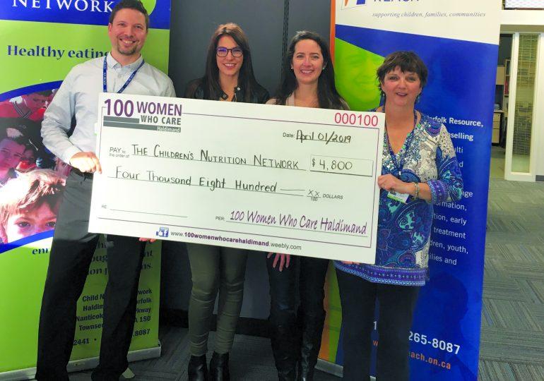 100 Women Who Care donate $4,800